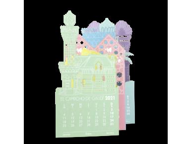 2021 Laser Cut Calendar - El Capricho of Gaudí