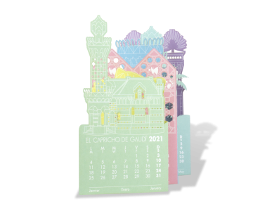 Calendario Láser 2021 - El Capricho de Gaudí