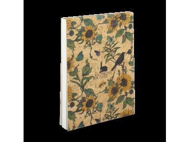 Cuaderno de Corcho - Girasoles