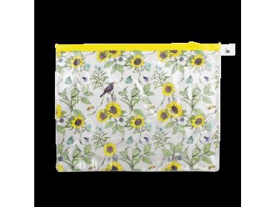 Wash Bag - Sunflowers