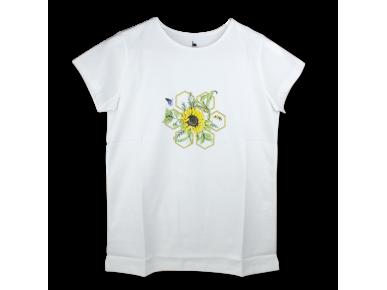 Camiseta - Flor de Girasol