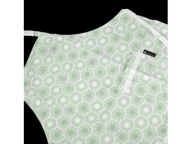 Apron - Hexagonal Pattern