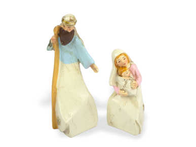 Figures of Joseph and Mary