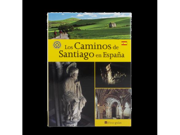 """tapa de un libro titulado """"Los caminos de santiago en España"""