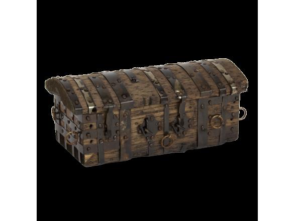 Caja de madera (reproducción del cofre del Cid)