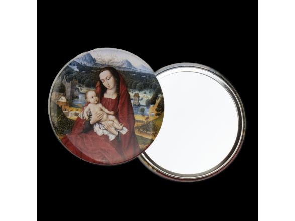 Espejo - Virgen con Niño