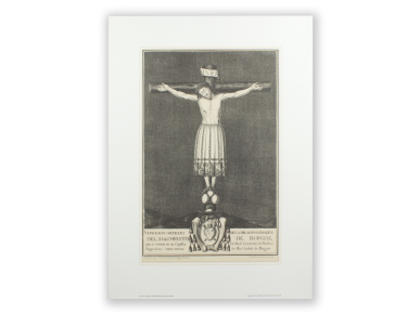 Engraving - The Most Holy Christ of Burgos