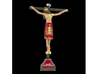 figureta que representa un Crist a la creu