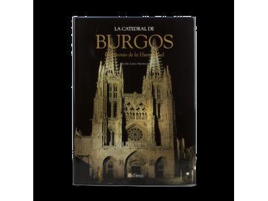 """tapa del libro """"La catedral de burgos. Patrimonio de la humanidad""""."""
