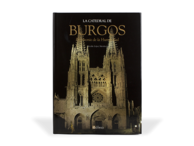 """tapa del llibre """"La catedral de burgos. Patrimonio de la humanidad"""""""