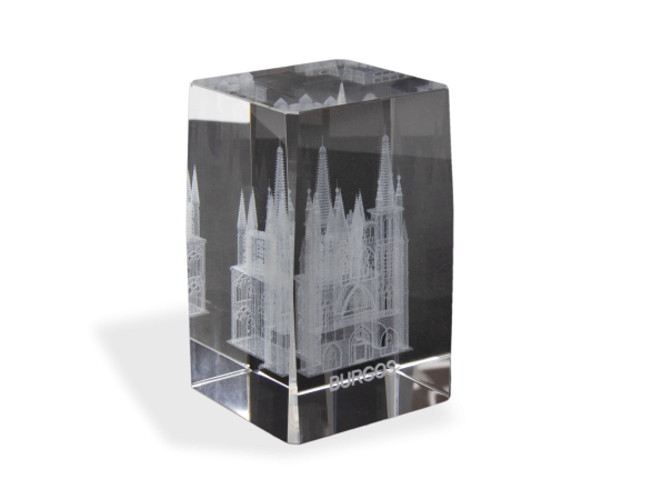 Bloc Souvenir Gravé - Cathédrale de Burgos