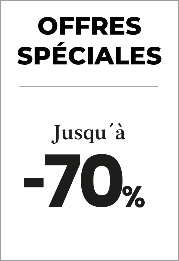 Offres Spéciales! Jusqu'à -70%